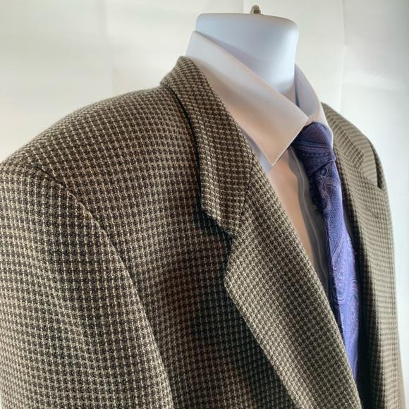 Jones New York Other - Jones New York Wool Houndstooth Coat Blazer 42 R